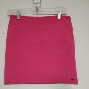 Victoria secret PINK mini skirt stretch sz.M pink